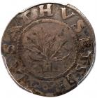 1652 Massachusetts Oak Tree Shilling Noe-9 Rarity-5 PCGS Genuine, VF Details, Filed Rims