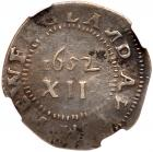 1652 Massachusetts Pine Tree Shilling Noe-11 Rarity-4 NGC XF Details, Improperly Cleaned - 2