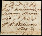 Williams, William - Autograph Note Signed by a Signer of the Declaration of Inde