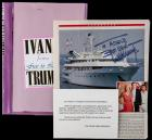 "Donald Trump Signed Magazine Article Regarding His Yacht, ""The Trump Princess"" Plus Book Card Signed by Ivana"